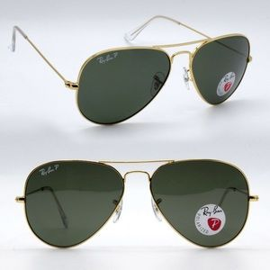 New Authentic Ray-Ban Aviator RB3025 Polarized